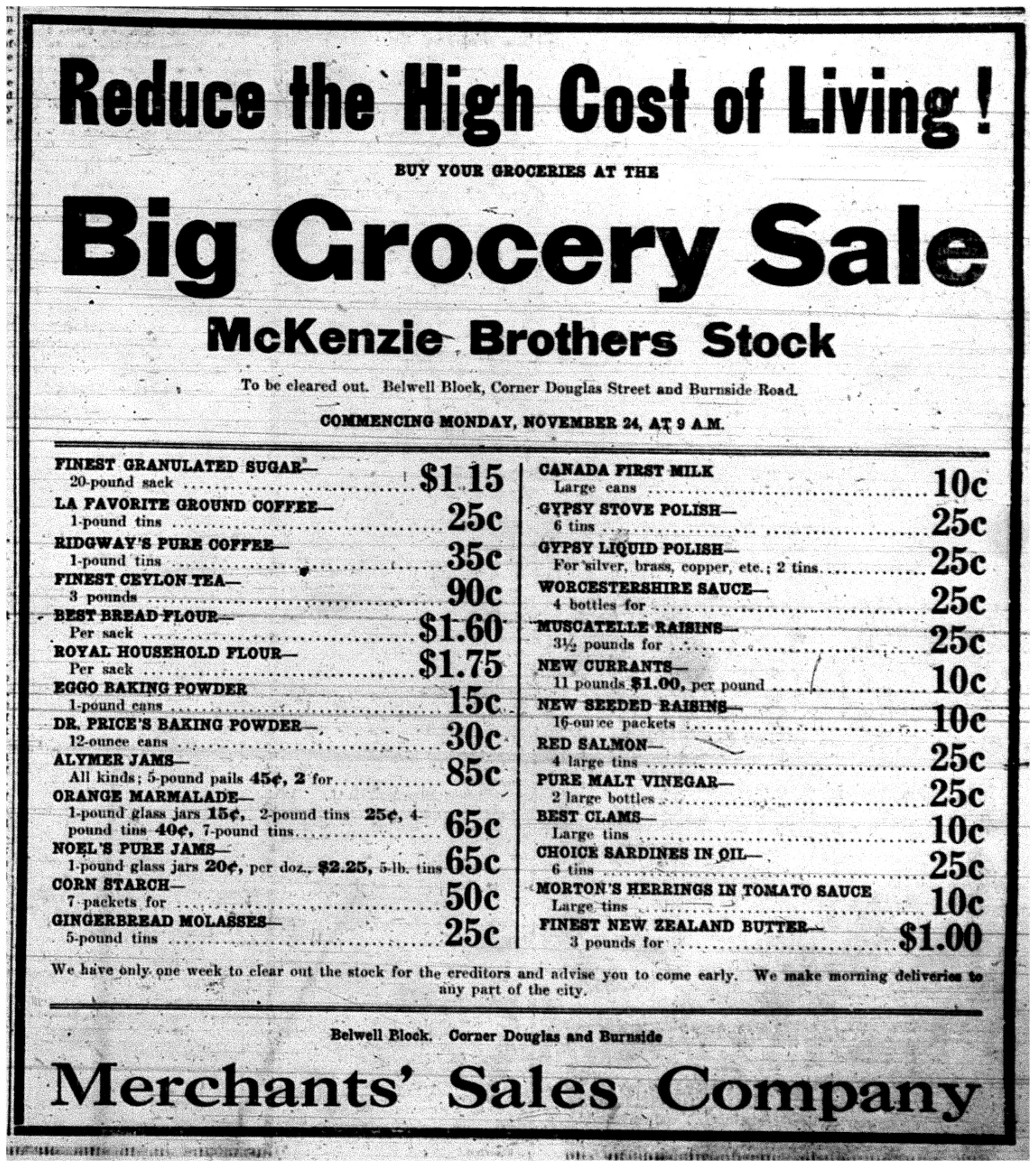 """Reduce the High Cost of Living!"""