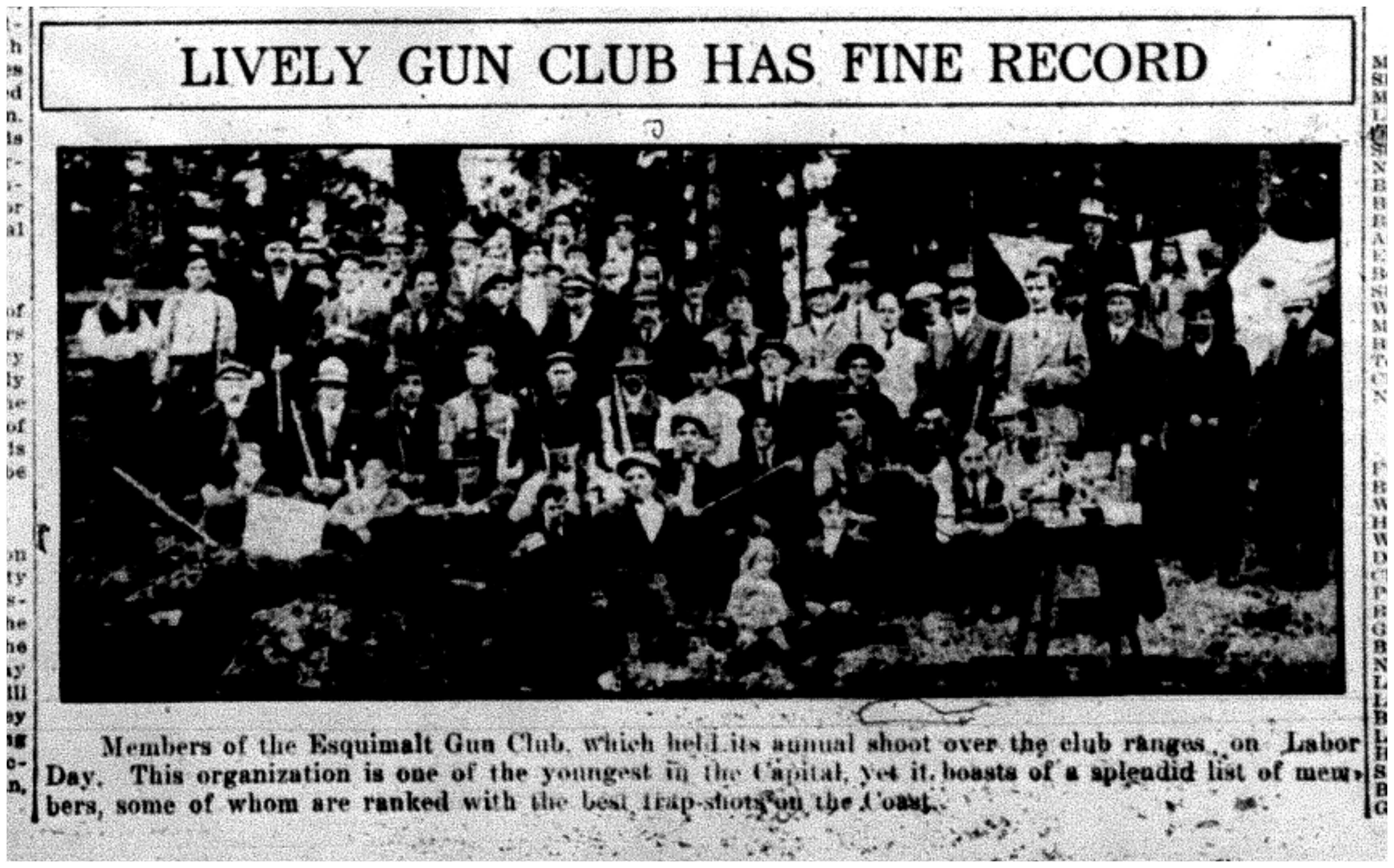 """Lively Gun Club Has Fine Record"""