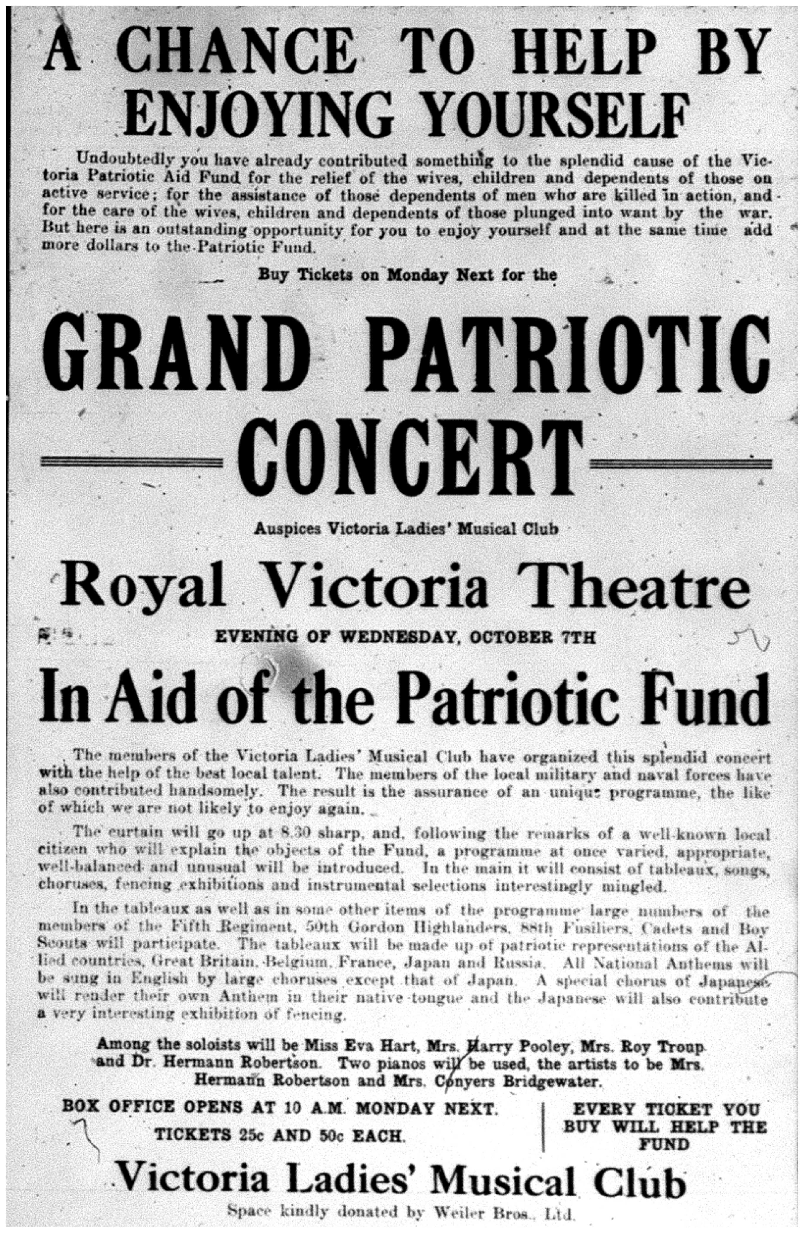 """""""Grand Patriotic Concert"""""""