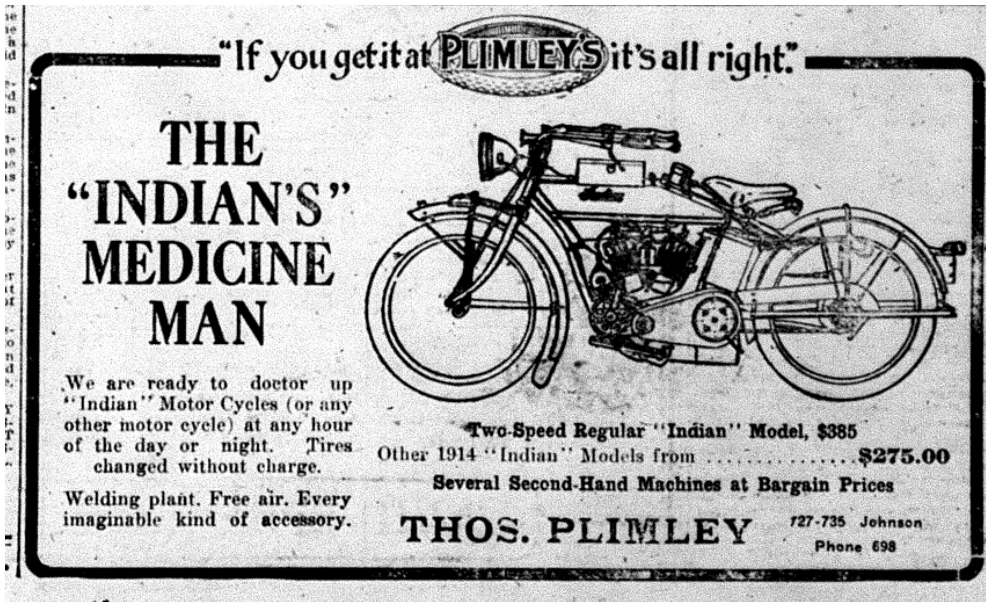 """The ""Indian's"" Medicine Man"""