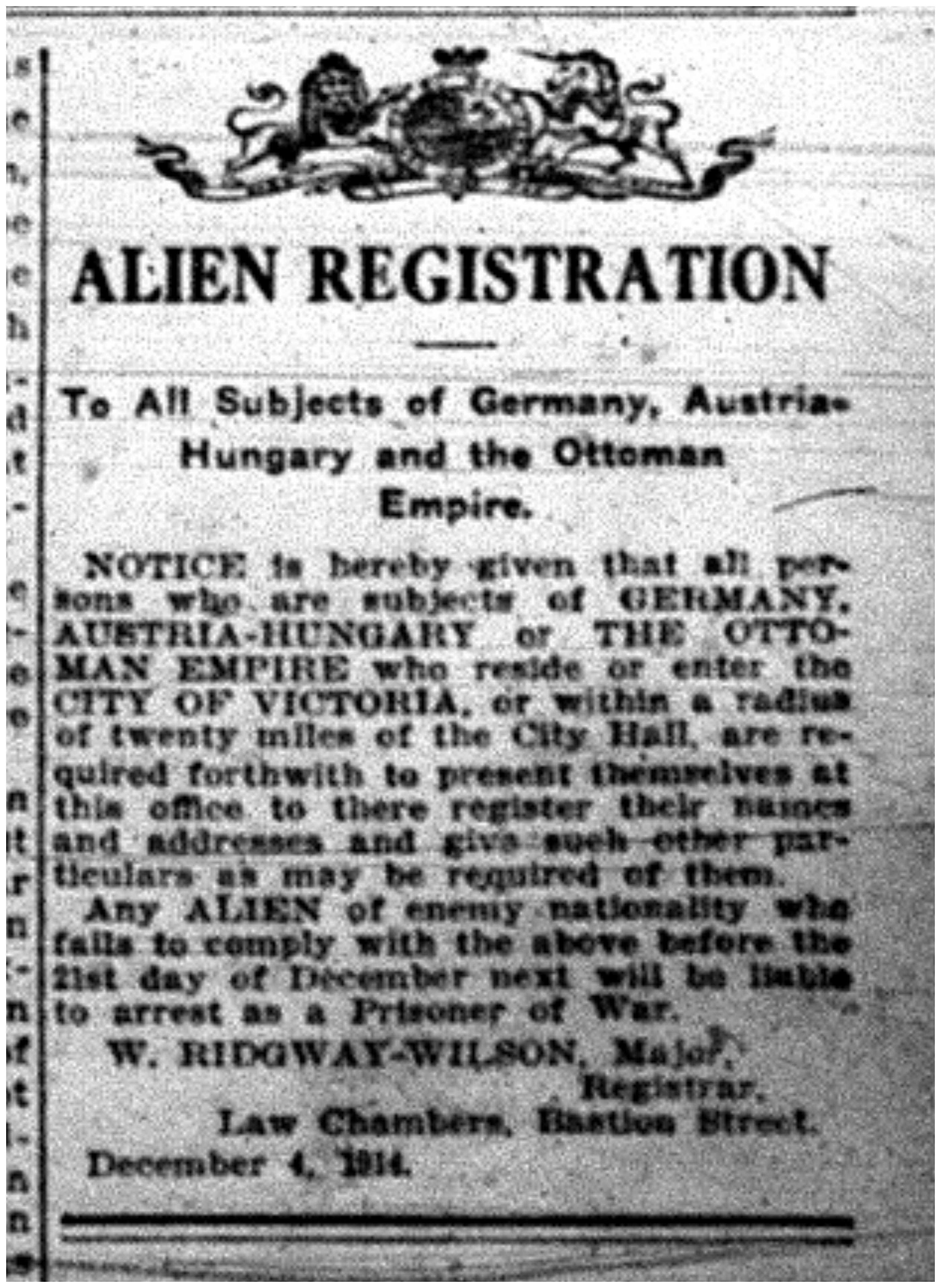 """Alien Registration"""