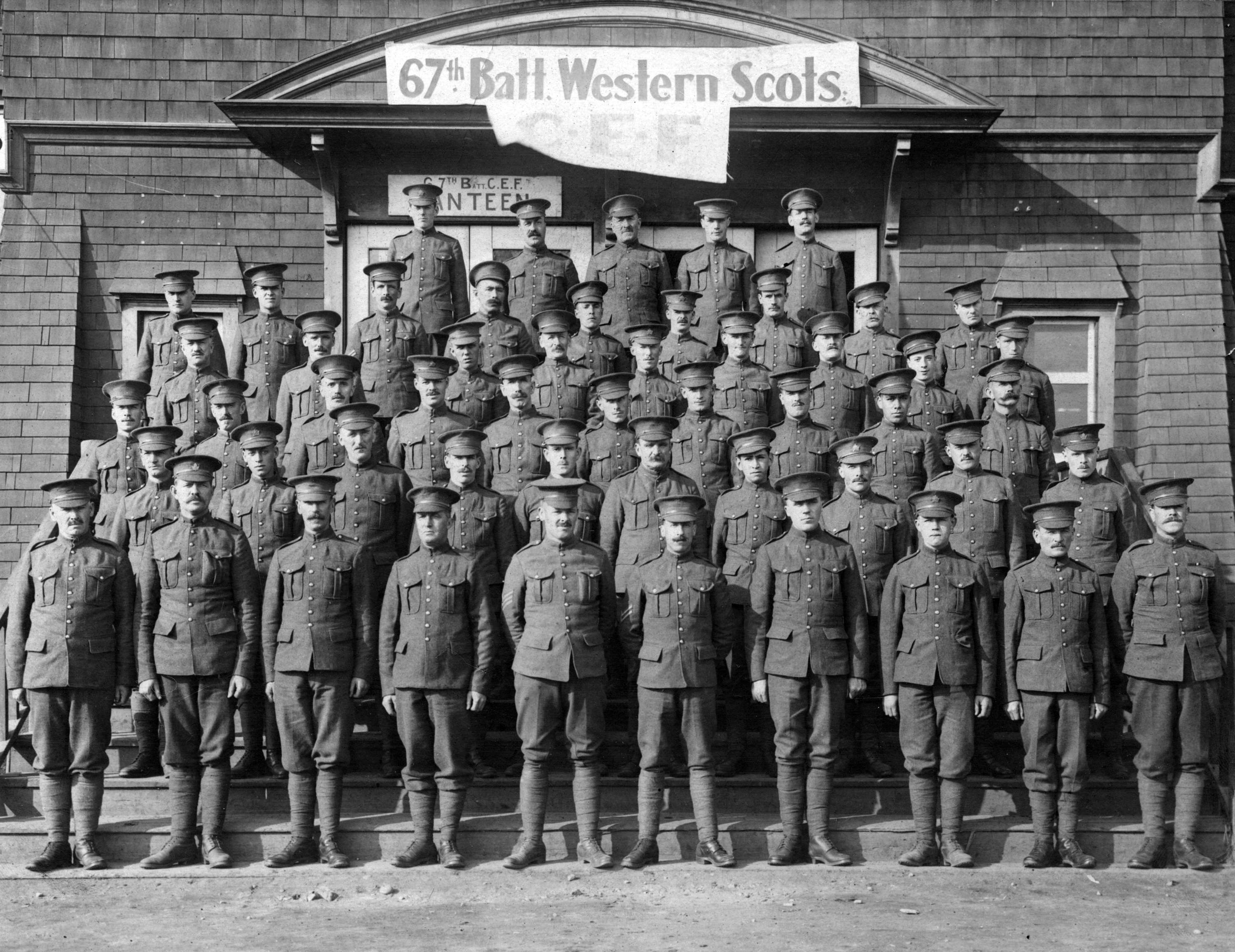 The 67th Battalion, Western Scots