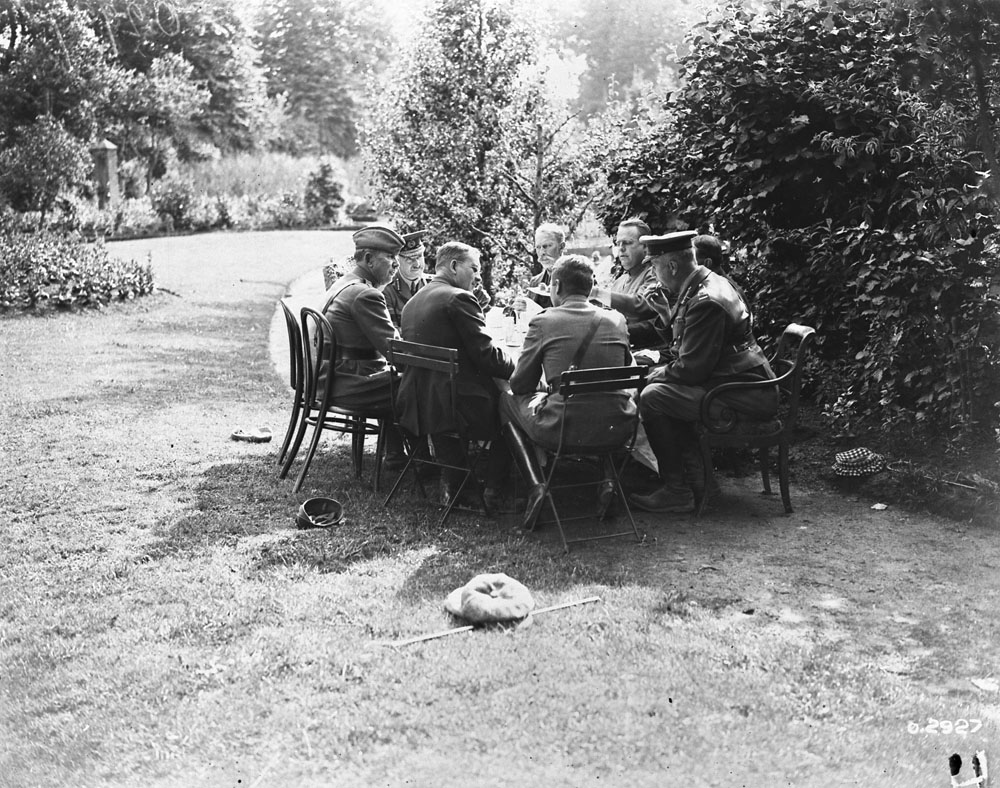 Tea Time at the Front
