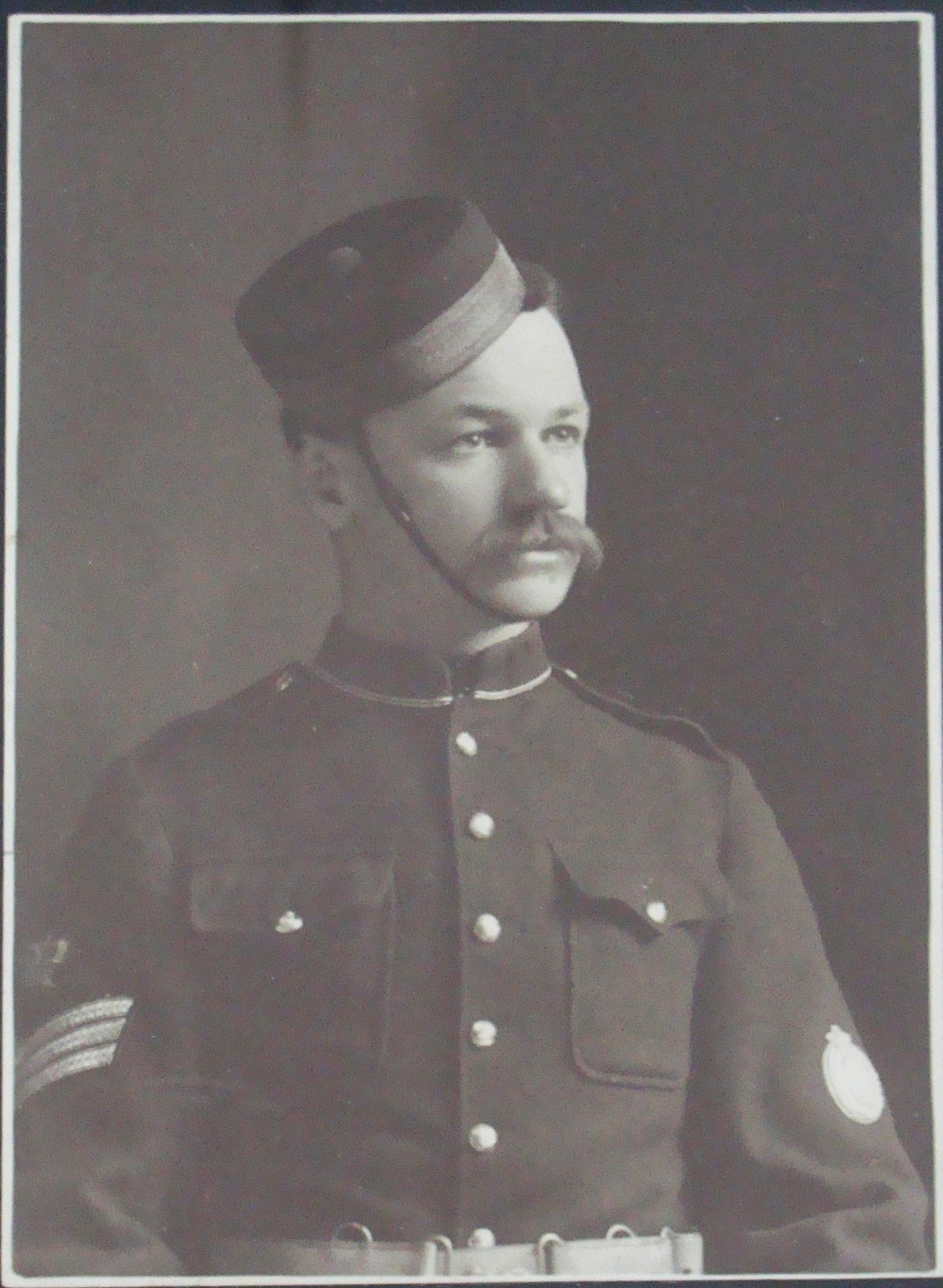 Regimental Quartermaster Sergeant W.H. Lettice