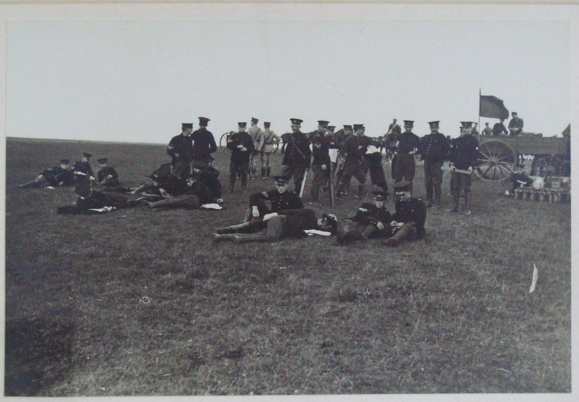 The Canadian Heavy Artillery Team in England