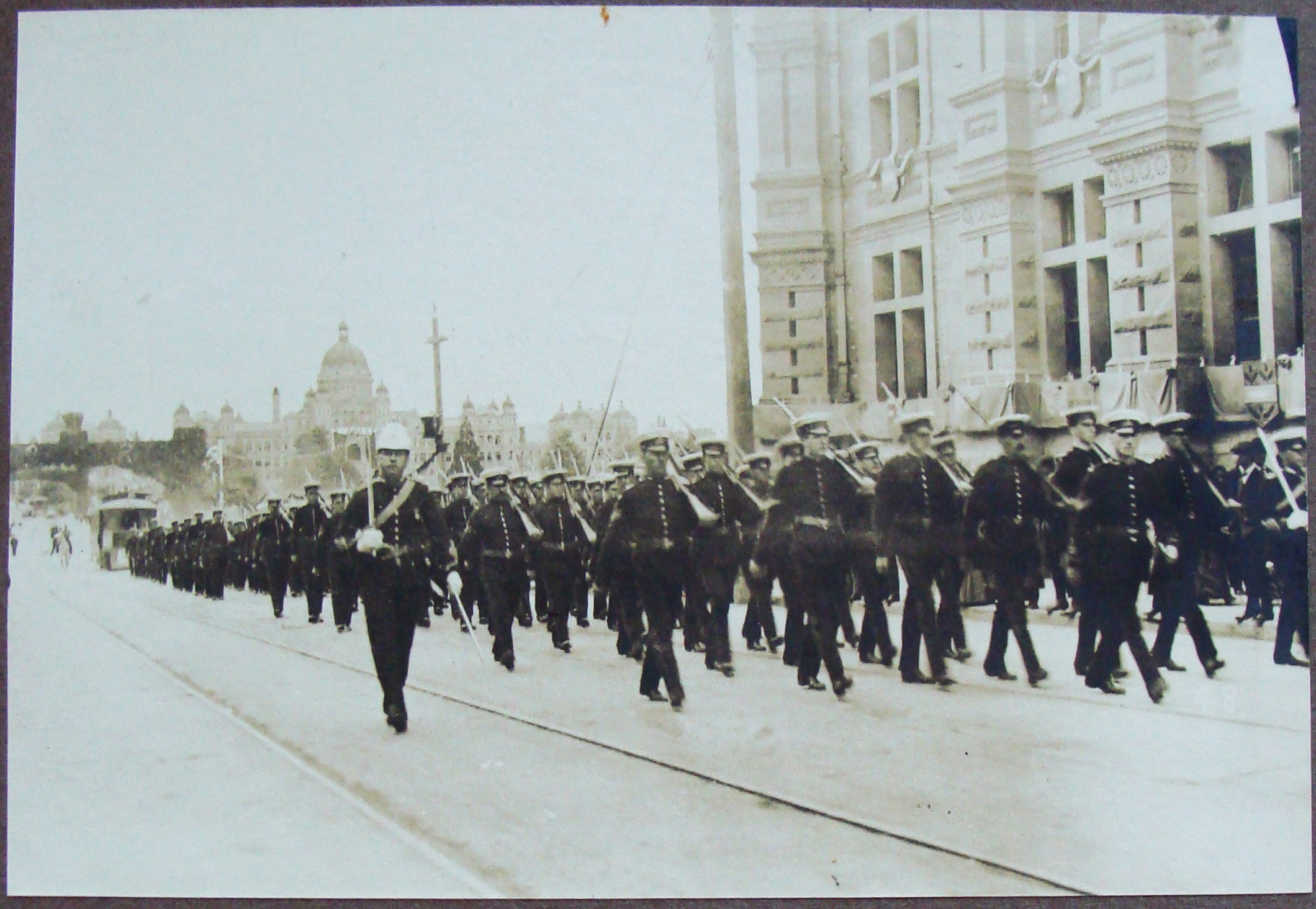 The 5th Regiment on Parade