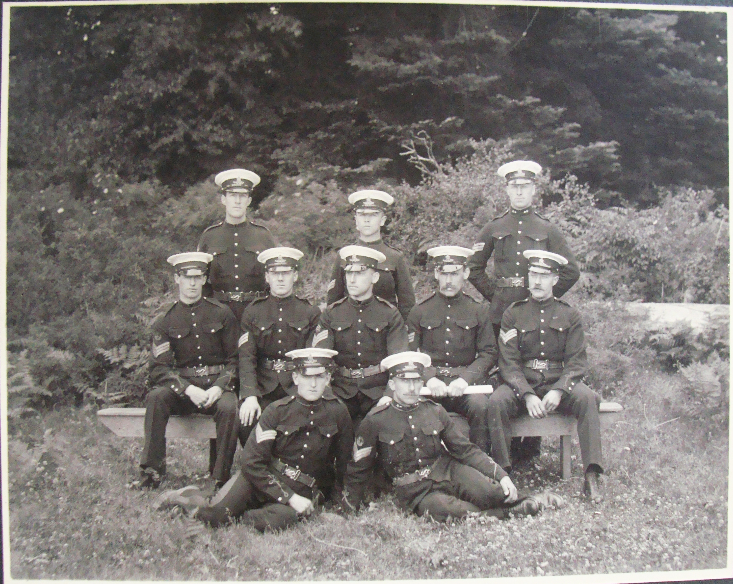 NCOs of the 5th Regiment