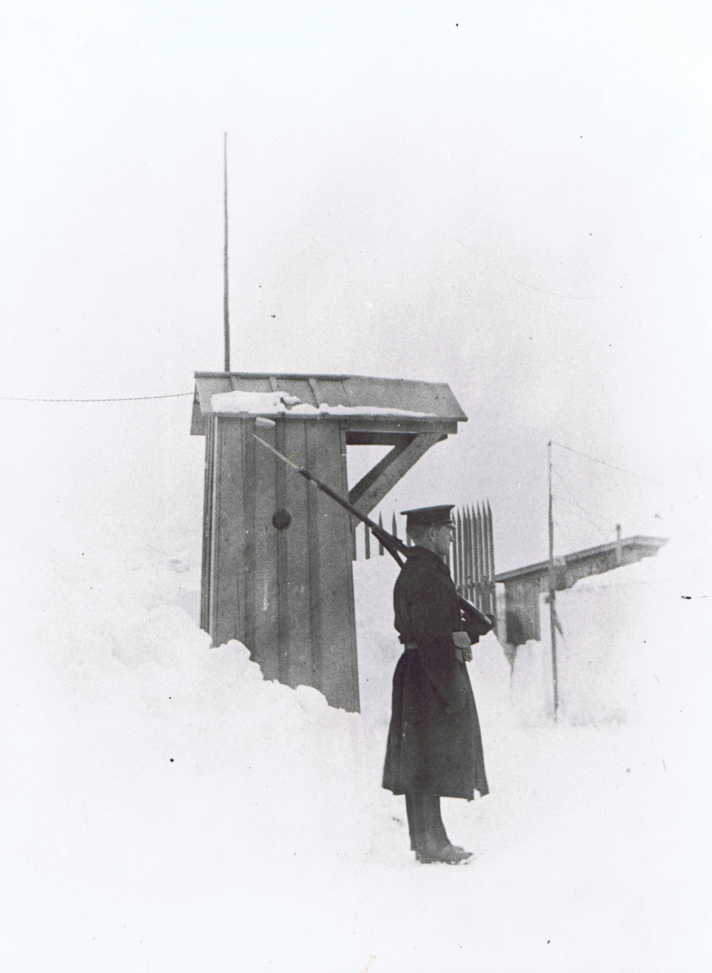 Snowed in at Fort Macaulay