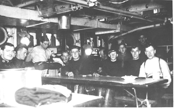 Mess Deck, HMCS Rainbow