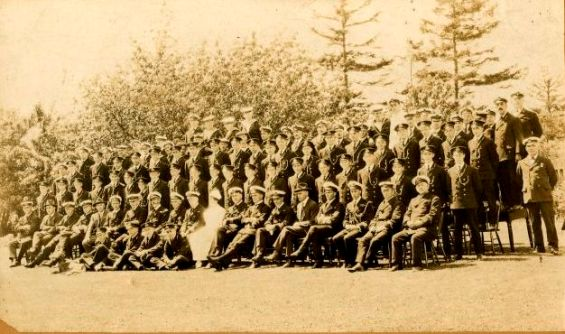 Royal Naval College of Canada Staff and Cadets