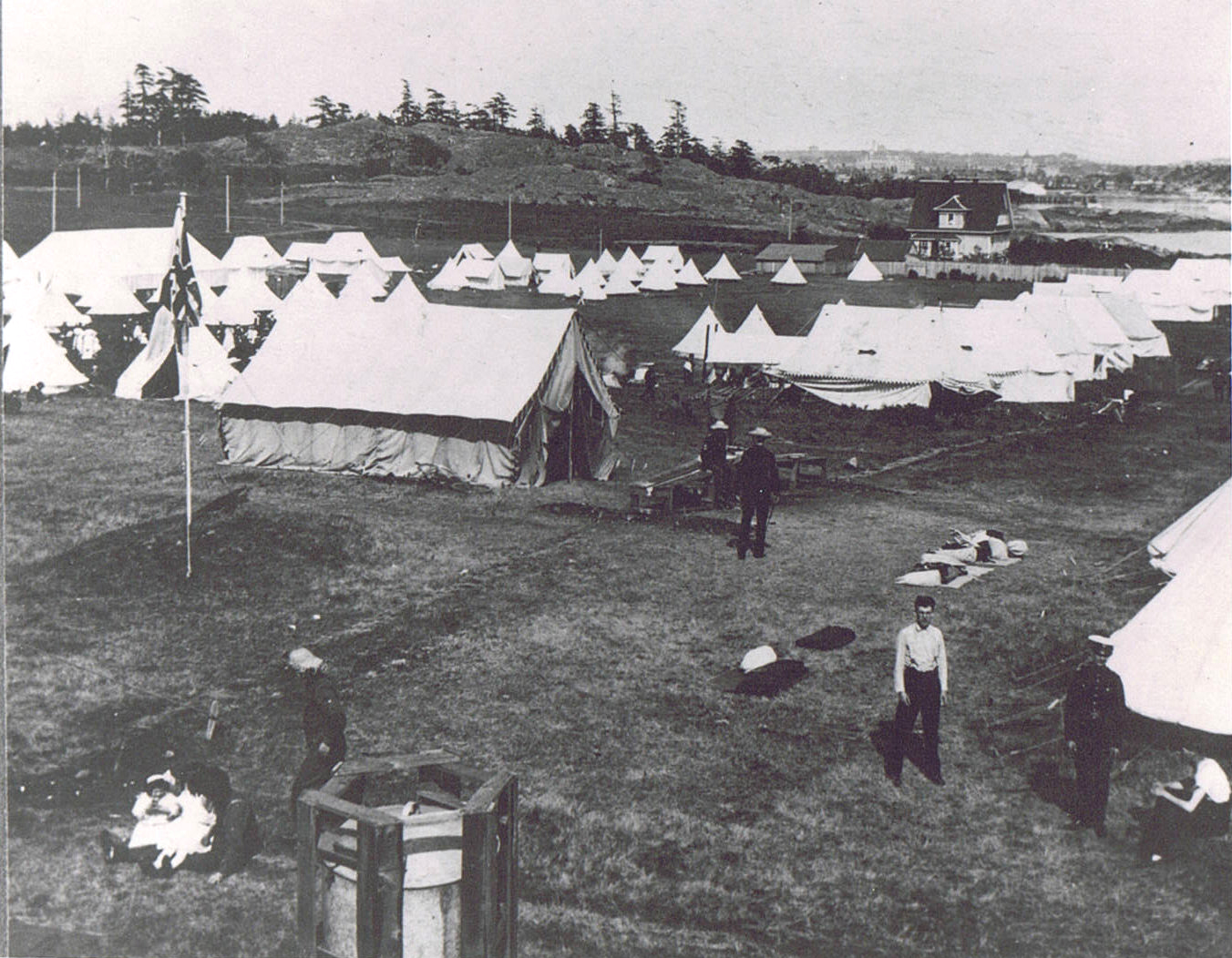 The 5th Regiment in Camp