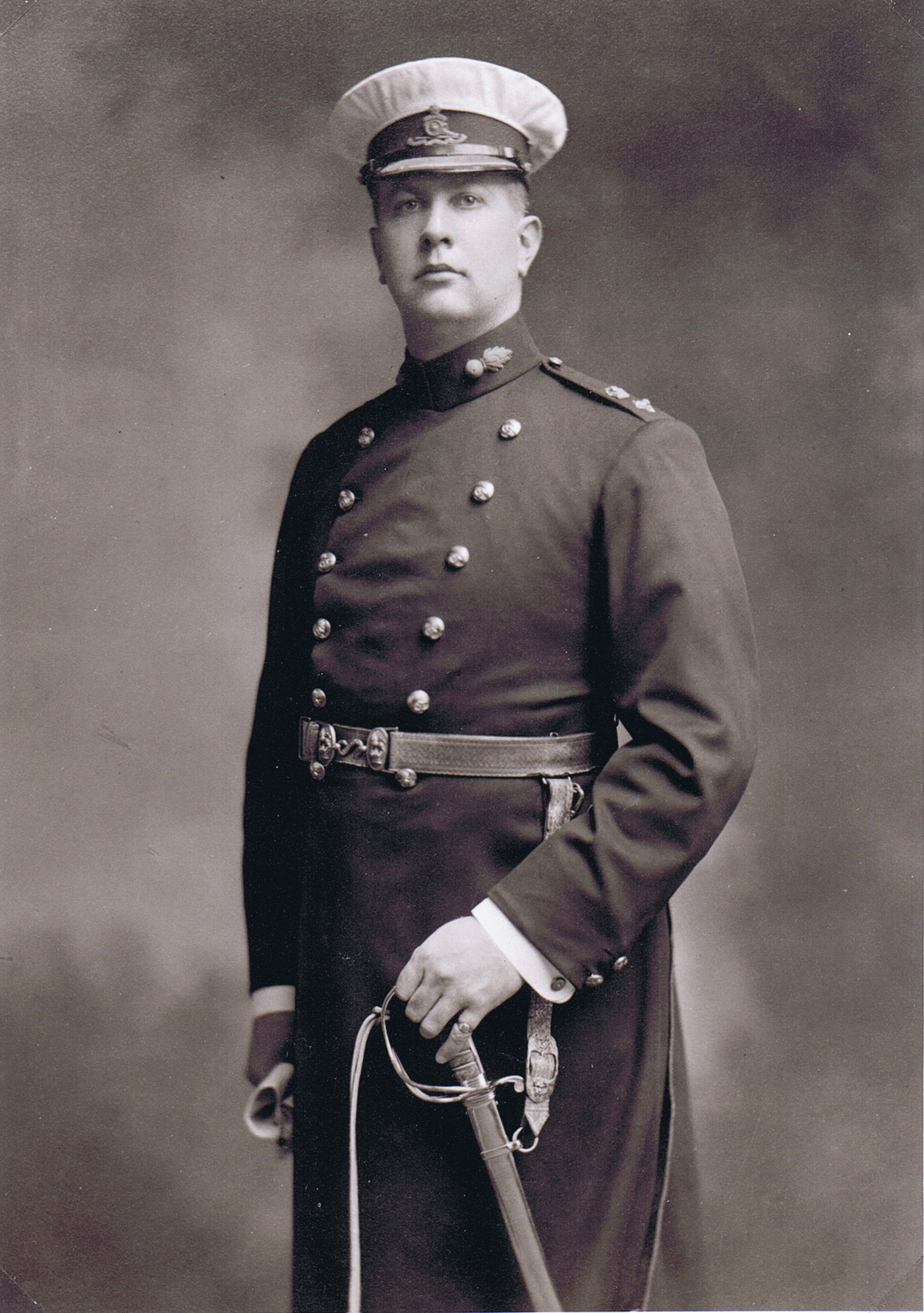 Arthur Currie as Lieutenant-Colonel of the 5th Regiment