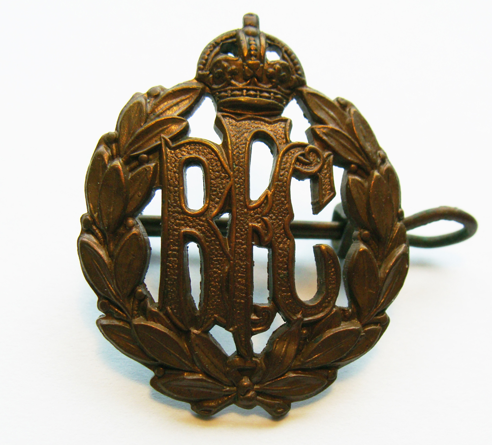 V.R. Pauline's Hat Badge