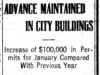 """Advance Maintained in City Buildings"""