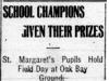 """School Champions Given Their Prizes"""