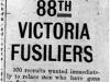 """""""88th Victoria Fusiliers"""""""
