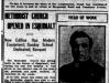 """""""Methodist Church Opened in Esquimalt"""""""