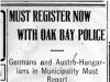"""Must Register Now With Oak Bay Police"""