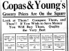 """Copas & Young's Grocery Prices Are on the Square"""