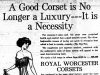"""A Good Corset is No Longer a Luxury - It's a Necessity"""