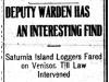 """""""Deputy Warden Has an Interesting Find"""""""