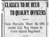 """""""Classes to Be Held to Qualify Officers"""""""