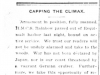 """""""Capping the Climax"""""""