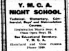 """Y.M.C.A. Night School"""