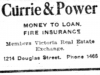 """Currie & Power"""