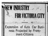 """New Industry for Victoria City"""