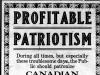 """Profitable Patriotism"""