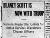 """Blayney Scott Now With Troop"""