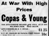 """""""At War WIth High Prices: Copas and Young."""""""