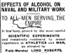 """Effects of Alcohol on Navy and Military Work"""