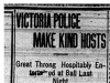 """Victoria Police Make Kind Hosts"""