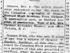 """Gunner Edward Penn Dies of Pneumonia"""