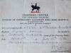 W.C. Warren's Carpentry Workshop Certificate