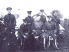 Arthur Currie with Brigade Staff - and Pooh
