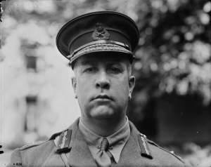 General Sir Arthur Currie.  Source: Image Courtesy of the Library and Archives Canada/MIKAN - 3214439  Date: Between 1914 and 1918