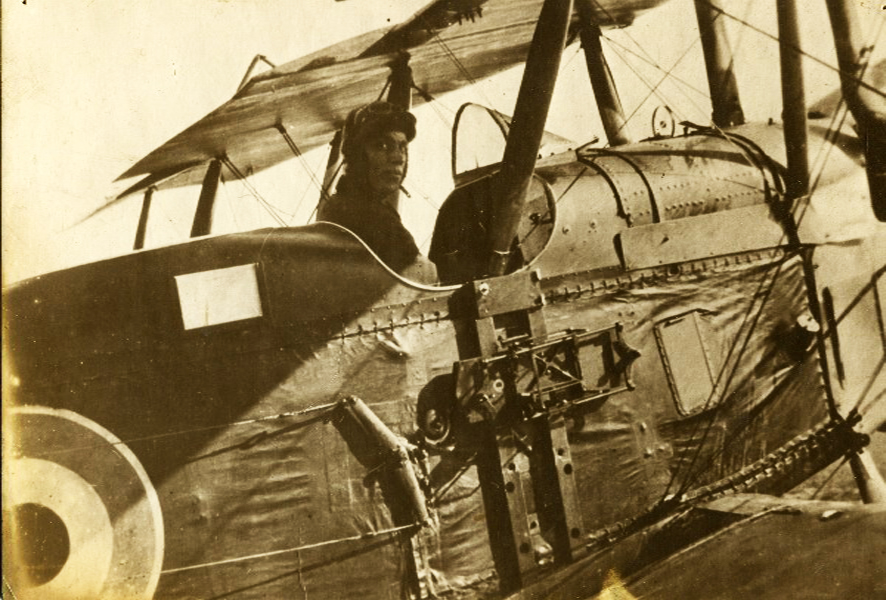 R.V. Gordon in Bi-Plane