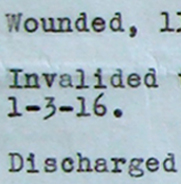 Lieutenant W.C. Warren's Record of Service