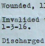 Lieutenant W.C. Warren's Record of Service