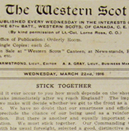 """The Western Scot,"" No. 16"