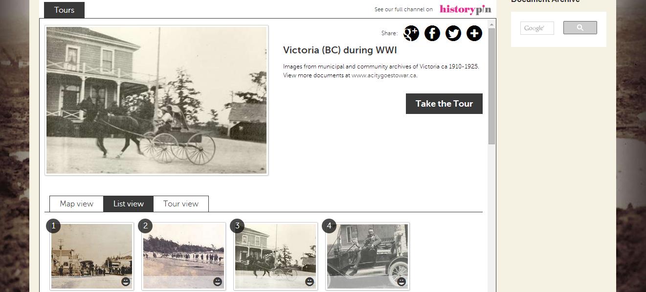Take a Tour of Victoria